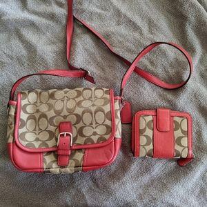 Coach Purse & Wallet